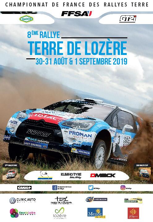 Nacionales de Rallyes Europeos(y no europeos) 2019: Información y novedades - Página 12 AfficheTerreLozere2019