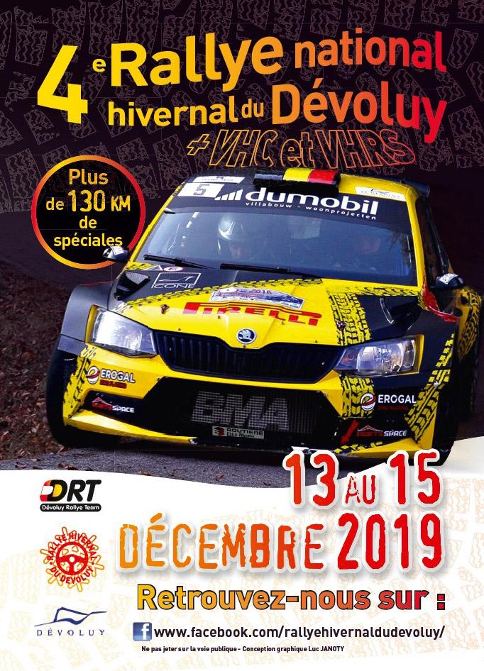 Nacionales de Rallyes Europeos(y no europeos) 2019: Información y novedades - Página 17 Affiche-hivdev19