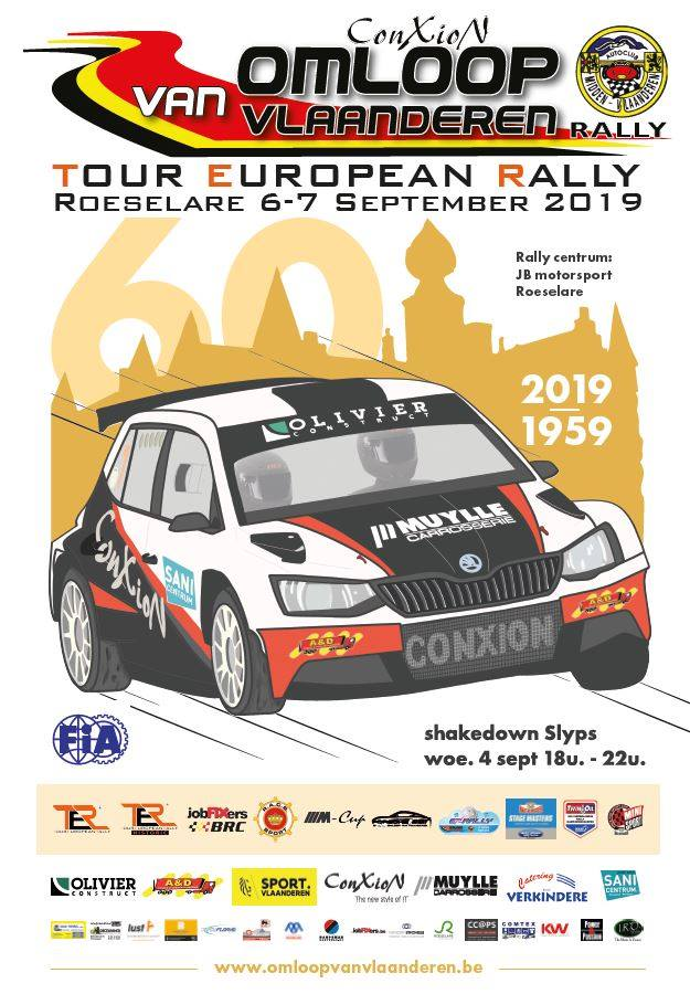 Nacionales de Rallyes Europeos(y no europeos) 2019: Información y novedades - Página 12 Omloopposter2019