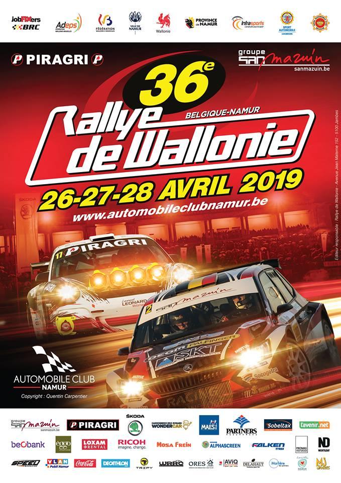 Nacionales de Rallyes Europeos(y no europeos) 2019: Información y novedades - Página 7 Poster_wallonie_2019